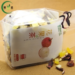 180g Litchi Flavor*Assorted Dried Fruit Tea With Picture Pack Food Tea