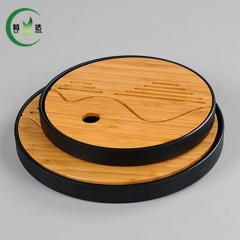 R Bamboo Tray & High Quality Plastic Pot Tea Set Trivet Tea Set Tray Tea Set
