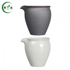 9x9cm Ru Yao Porcelain Gong Dao Bei Tea Cup Ceramic Oolong Tea Cup 200ml