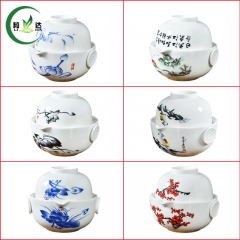 1 Tea Pot +1 Cup High Quality Gai wan Ceramic Teapot Kettle Tea Set Oolong Tea Slimming Tea