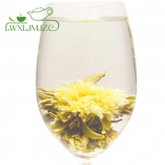 """Marigold Sun""Blooming Flower Tea-Flowering Green Tea-Blooming Tea Ball"