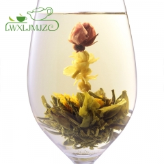 """Orient Beauty"" Blooming Flower Tea-Flowering Green Tea-Blooming Tea Ball"