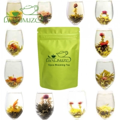 12pcs Blooming Flowers Tea-Blooming Green Tea-Blooming Tea Balls