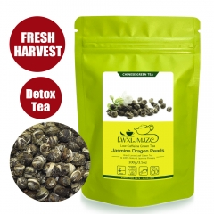 2019yr Good Quality Jasmine Tea Dragon Pearl Jasmine Green Tea Slimming Tea